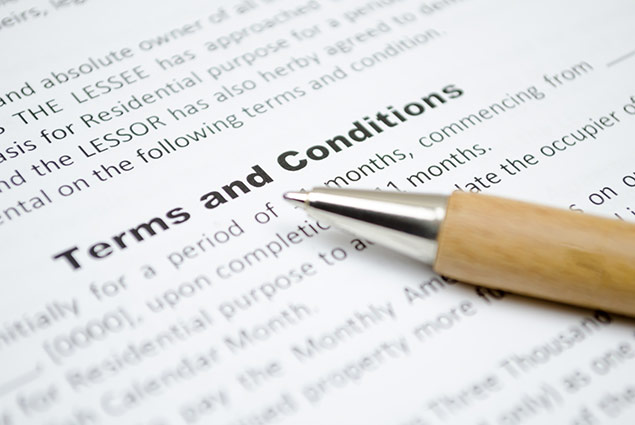 Terms and Conditions of Business
